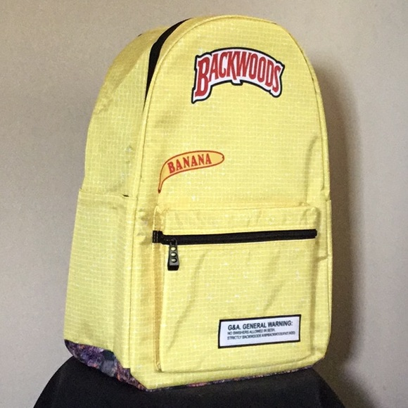 New Banana Backwoods Backpack made ACOSTA CLOTHING